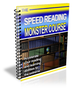 The Monster Speed Reading Course